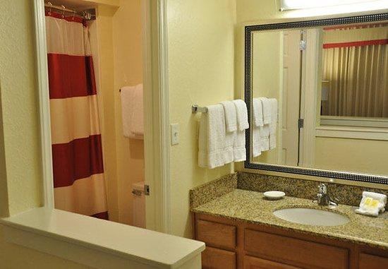 Vestal, Νέα Υόρκη: Bi-Level Loft Suite Bathroom