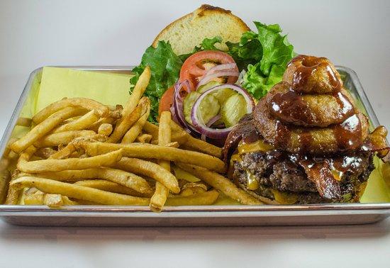 Aptos, Califórnia: Wester BBQ Burger