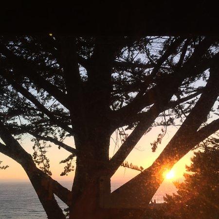 Hyatt Carmel Highlands: Sunset taken from the deck