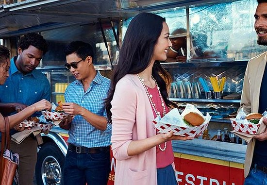 Pleasant Hill, CA: Food Trucks - Residence Inn Mix