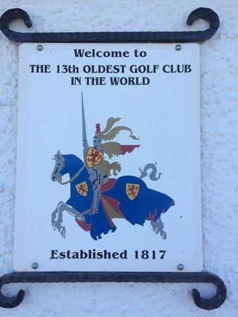 Scotscraig Golf Club: 13th Oldest club in the world.