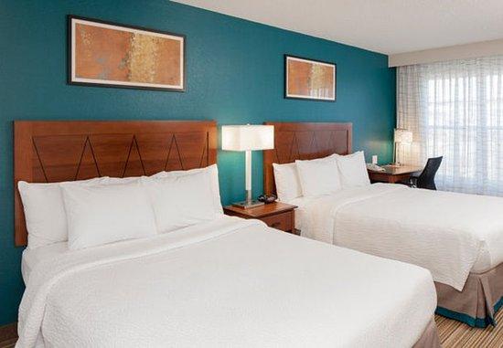 Norwood, ماساتشوستس: Two-Bedroom Suite – Queen/Queen Bedroom