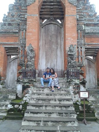 Mengwi, Endonezya: at the Royal Temple