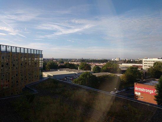 Hotel ibis budget Manchester Centre Pollard Street: From window by lift