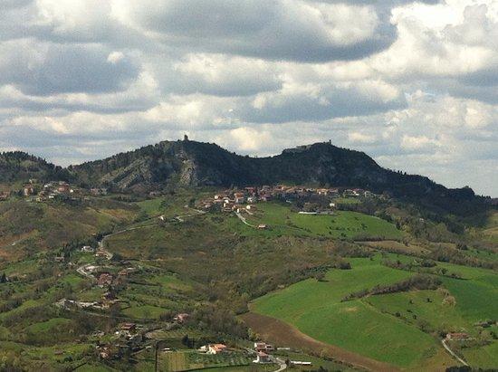 Verucchio, Itália: Panorama