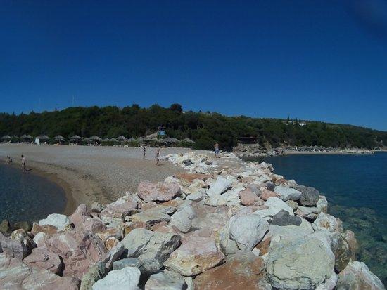 Πεταλίδι, Ελλάδα: plage privée