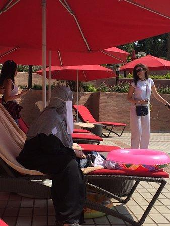 Cairo Marriott Hotel & Omar Khayyam Casino: Pool for everybody