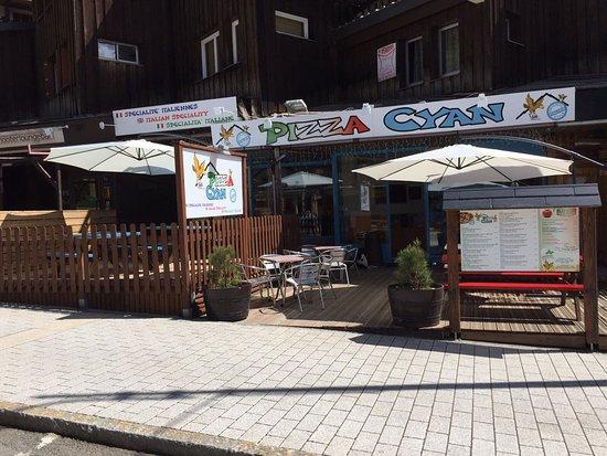 Pizza Cyan: La nouvelle terrasse!!!