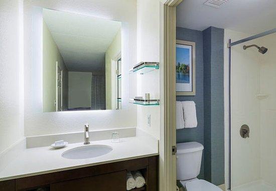 Framingham, MA: Suite Bathroom