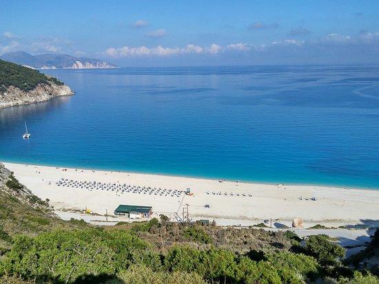 Myrtos Beach: La bellissima spiaggia