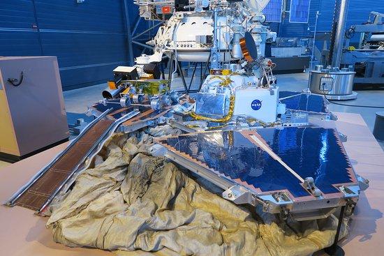 Chantilly, VA: Mars Pathfinder Tester