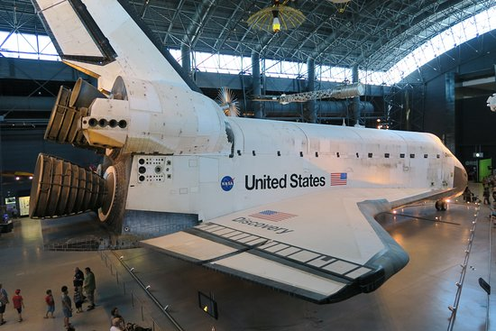 Chantilly, Wirginia: Space Shuttle Discovery