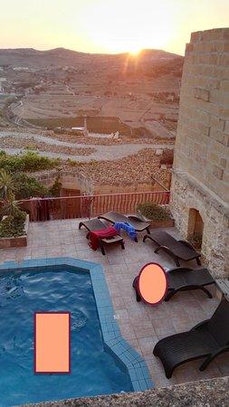 Bellavista Farmhouses Gozo: vue de la chambre