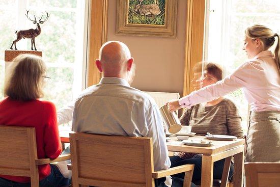 Nairn, UK: Dining Room