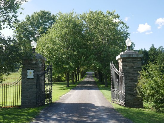 The Mansion at Noble Lane: Entrance