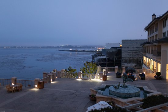 View From Partial Ocean View Room Picture Of Monterey Plaza Hotel Spa Monterey Tripadvisor