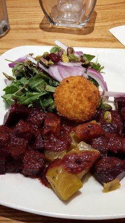 Warrington, PA: Beet salad