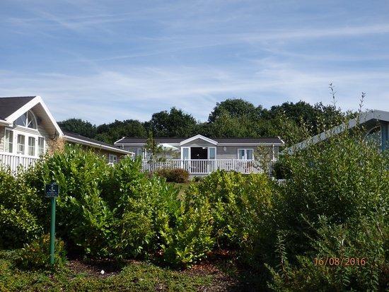 Willington, UK: Looking up to Rowan Lodge