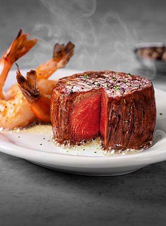 Ruth's Chris Steak House: Filet & Shrimp