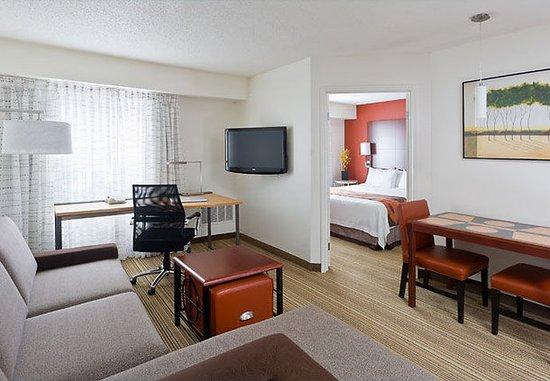 Poland, Ohio: One-Bedroom Suite – Living Room