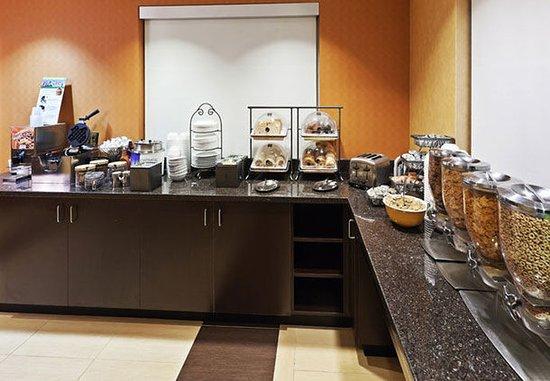 Stafford, Teksas: Breakfast Buffet