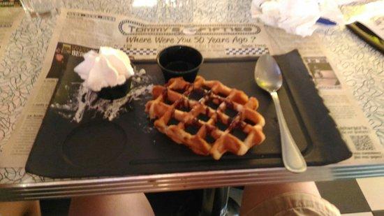 Labege, Prancis: Un dessert : Le waffle
