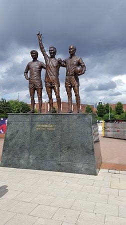 Stretford, UK: the three amigos