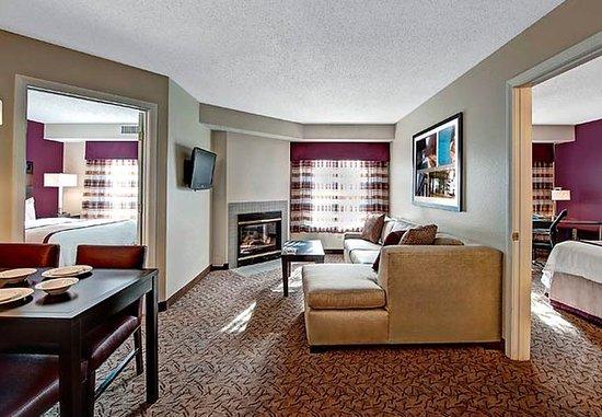Foxboro, MA: Two-Bedroom Suite Living Area