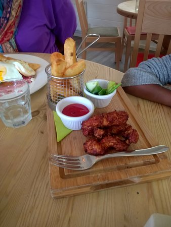 The Toddlers Chicken Nuggets Tasty Picture Of Trevaskis Farm