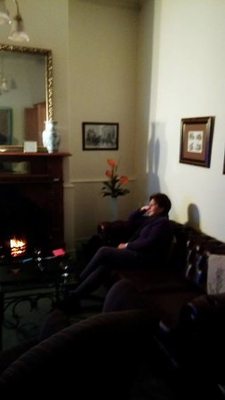 Mintaro, Australia: Lounge C#2 with open fire