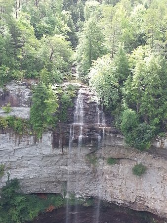 Spencer, TN: This is Fall Creek Falls, 256 ft