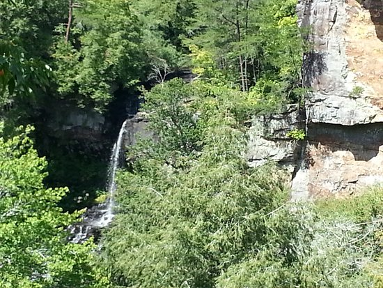 Spencer, TN: This is Piney Creek Falls, hidden among the trees
