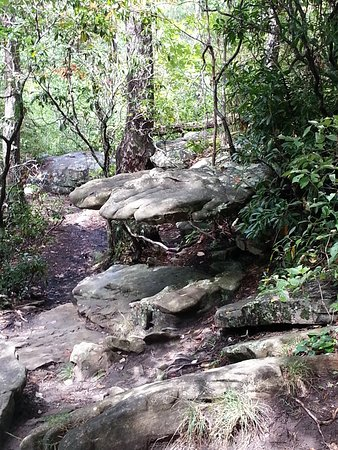Spencer, TN: A most interesting stone structure off the path near Piney Creek Falls