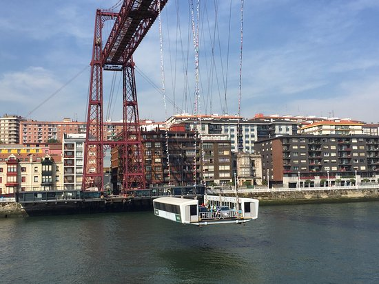 Provinz Bizkaia, Spanien: transbordador