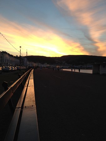 Great Orme at sunset August 2016