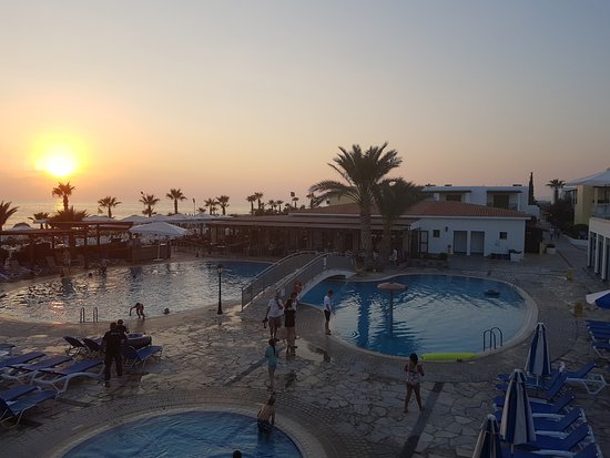 Kefalos Beach Tourist Village: Zachód słońca