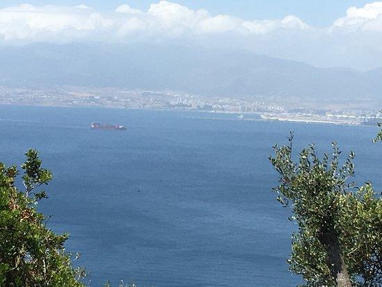 Pillars of Hercules: View from Pillars