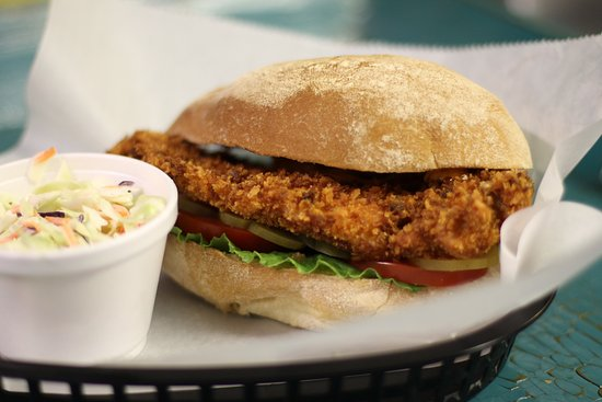 Edgewater, Φλόριντα: Panko Breaded Chicken Sandwich