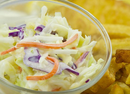 Сент-Катаринс, Канада: Fresh coleslaw