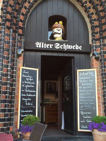 Restaurant Alter Schwede: Von außen ein tolles Haus!