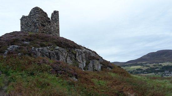 Tongue, UK: Die Castle-Ruine