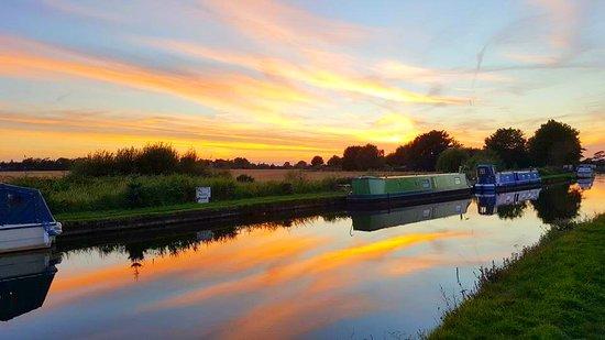 Burscough, UK: Can't beat this view!