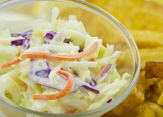 Port Colborne, Canadá: fresh coleslaw