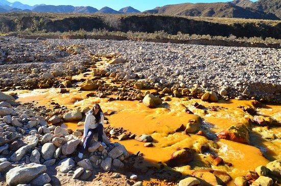 Vuelta al Pique: Río Amarillo.