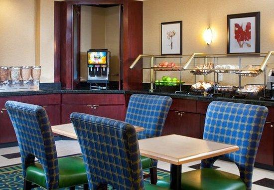 Centreville, Βιρτζίνια: Breakfast Area