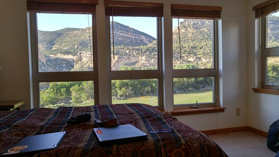 Escalante, UT : A view from the Metate Arch room