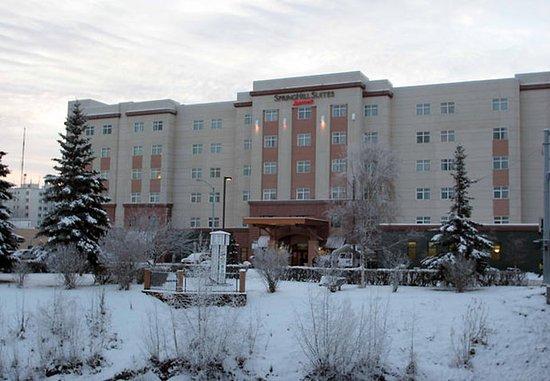 SpringHill Suites Fairbanks: Exterior – Winter