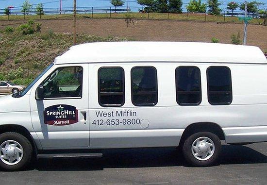 West Mifflin, Pensilvania: Complimentary Local Van Service
