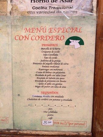 Restaurante rincon de reverte en pedraza for Restaurante el jardin pedraza