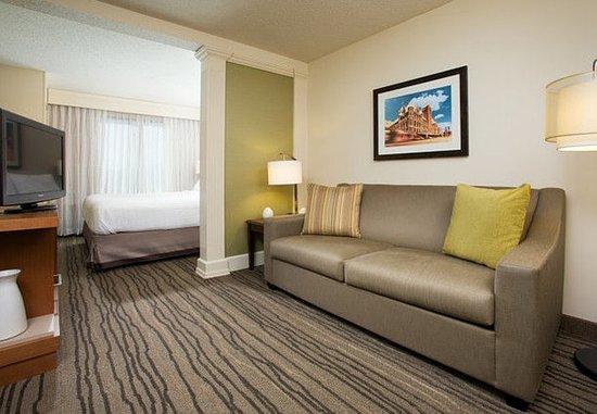 Saint Louis Park, MN: King Suite Living Area